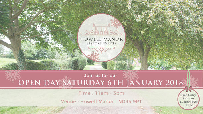 howellmanor openday prizes January newyear