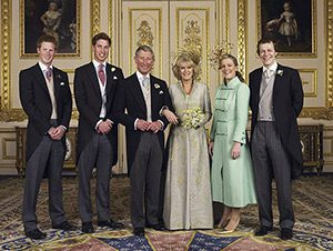 royal weddings century history british royal family charles and camilla