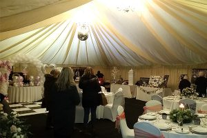howell manor open day new year marquee indoors suppliers visitors