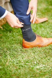 howell manor, lincolnshire wedding venue, wedding styling, groom socks