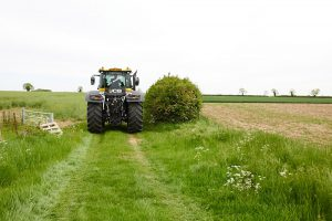 howell manor, lincolnshire wedding venue, farm wedding, tractor, wedding transport