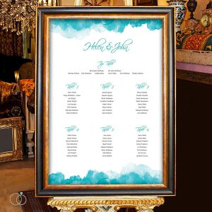 table plan, wedding stationary, loveli design for love and life